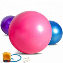 Health and Fitness Anti-Burst Stability Gym Yoga Ball with pump