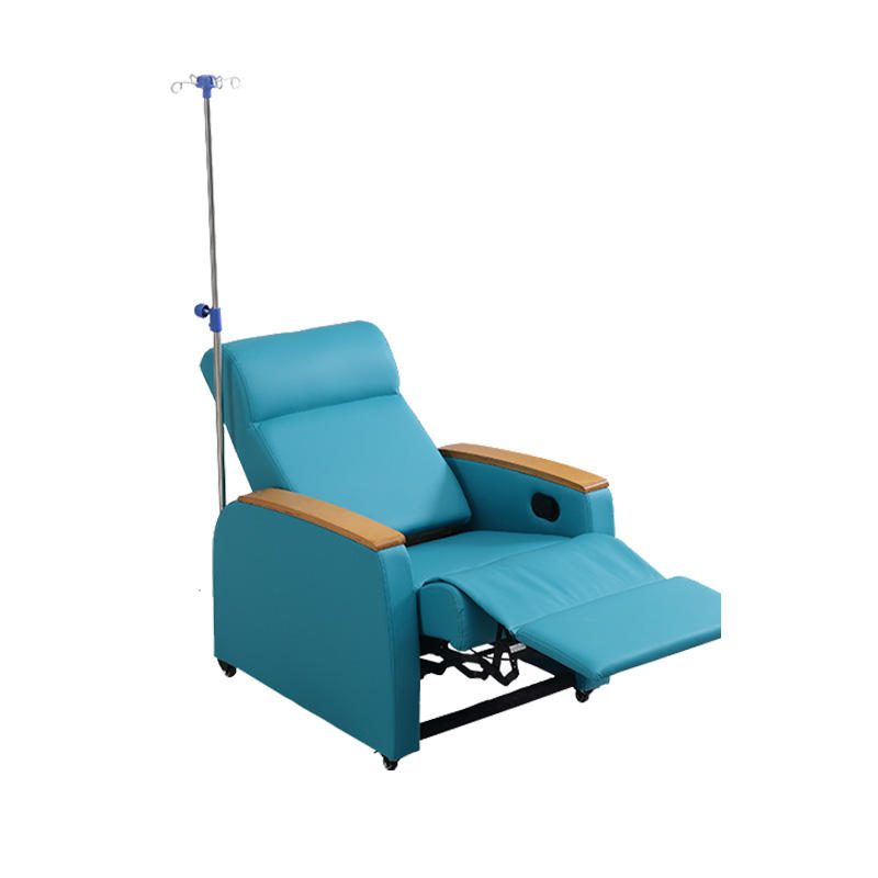 Medik Hospital Medical Luxurious Electric Dialysis Sofa Blood Room Draw Recliner Chair For Blood Extraction