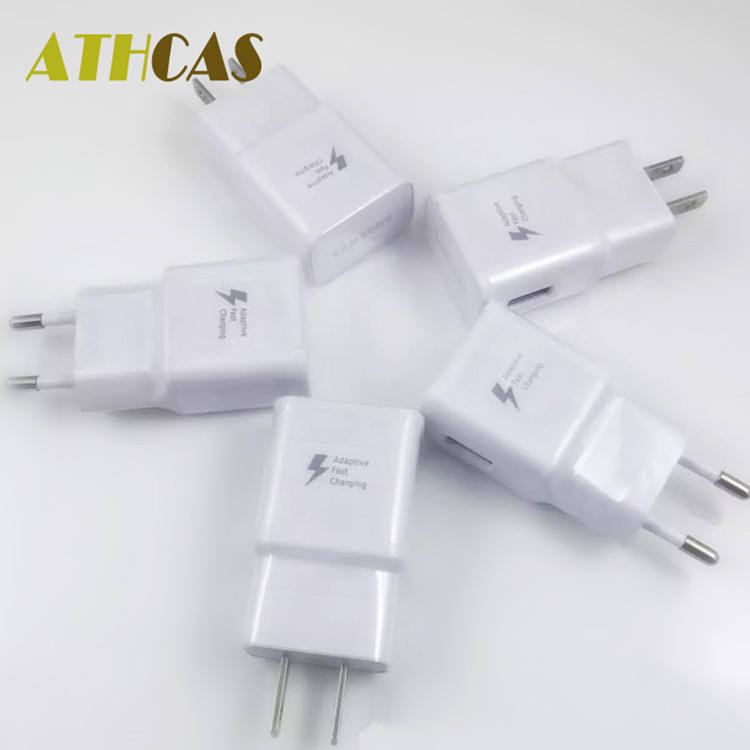 trending product 2019 small moq S6 S7 S8 S9 S10 Type c cable fast charging 3 pin UK plug fast 5v 2a usb wall charger for Samsung