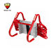 14 foot fire escape ladder 2 story steps emergency chain life save safety
