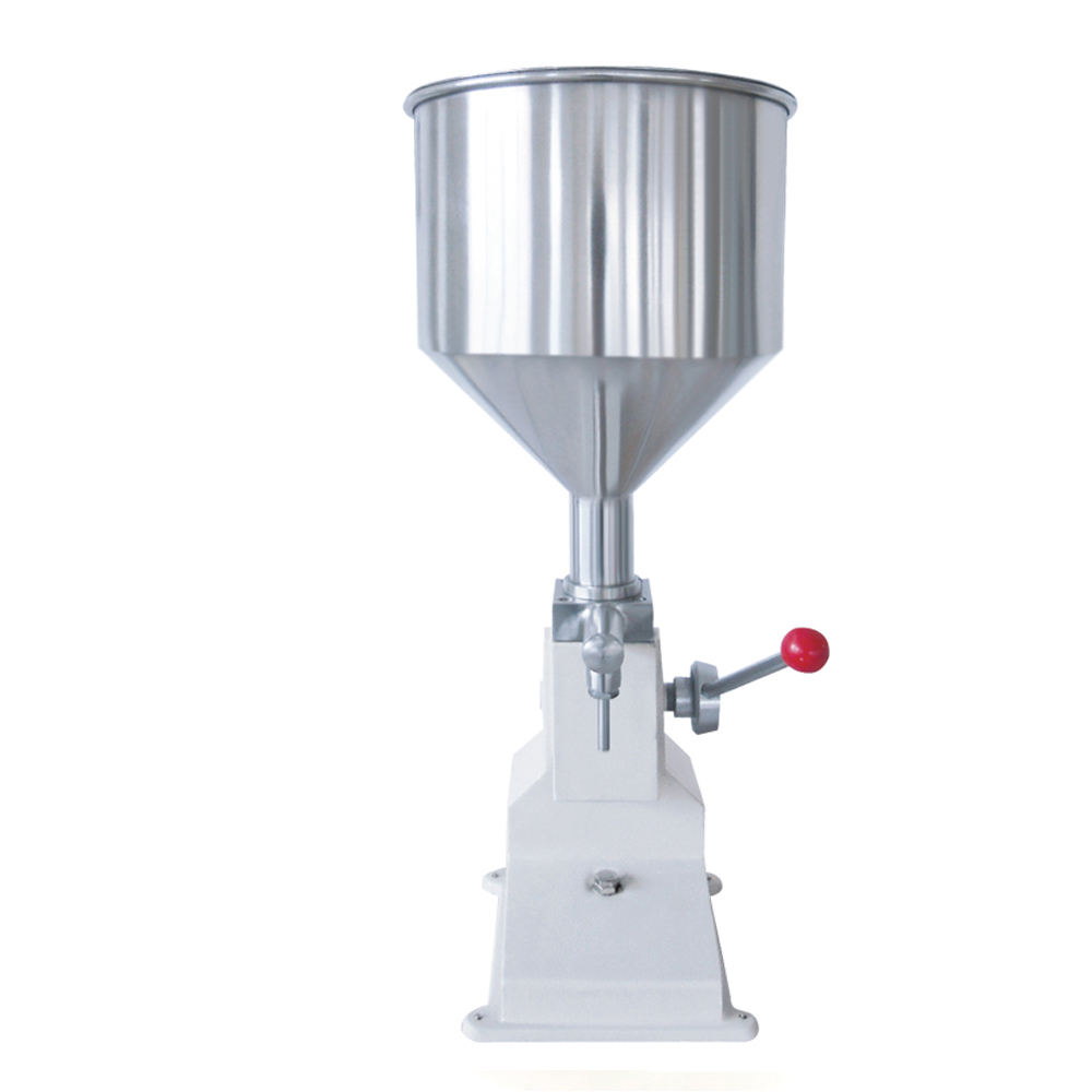 YS-A03 5-70ml Manual Sauce Juice Olive Oil Filling Machine, Face cream jar/bottle Filler for liquid soap/hand lotion