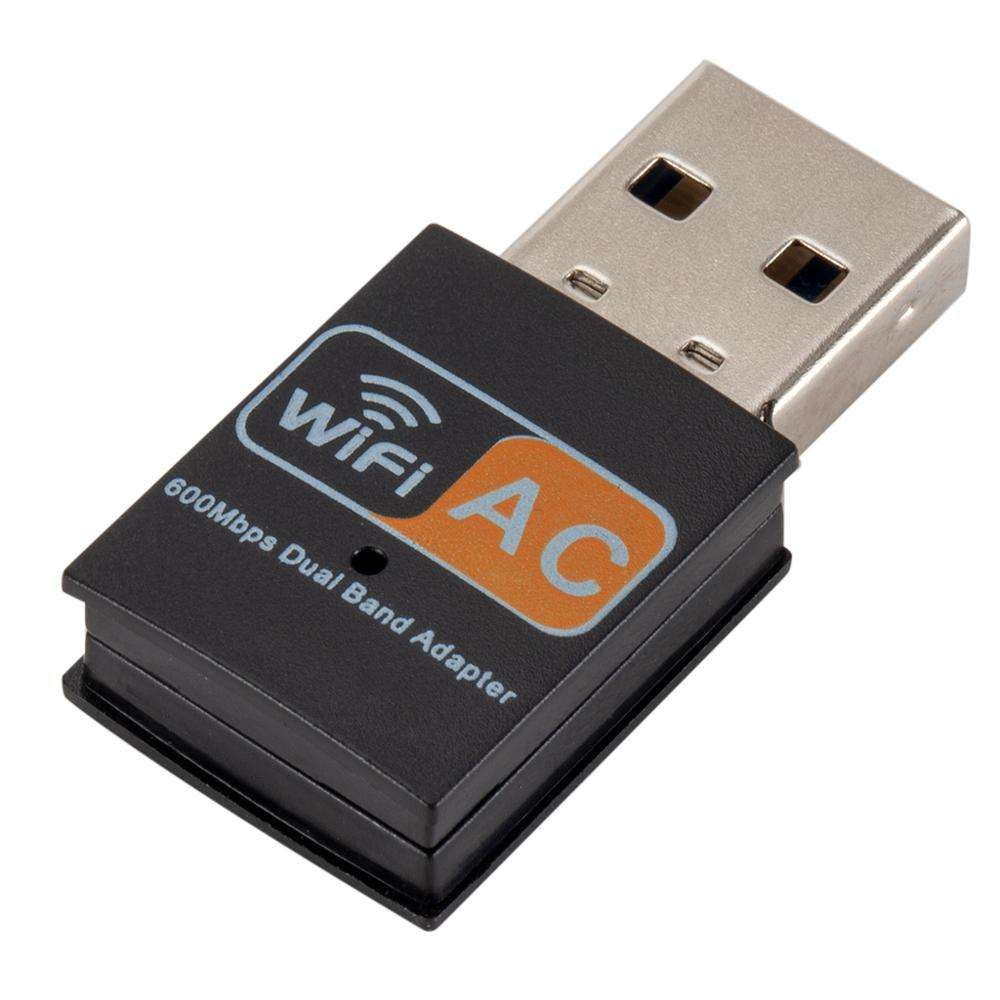 Wireless USB WiFi Adapter 600Mbps wifi Antenna Network Card 2.4 5Ghz usb Lan Ethernet Receiver