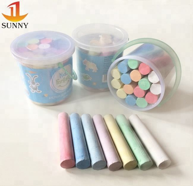 Jumbo and pavement chalk Dust-free Chalk for school office street writing