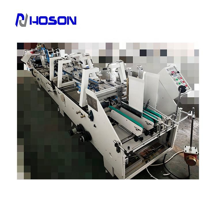 ZH-880PFT Pre-fold Type Box Side Pasting Machine