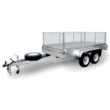 8 x 5 Galvanized Fully Welded Heavy Duty Tandem Box Trailer For Sale