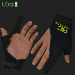 Two finger fishing gloves fishing handling gloves gaming