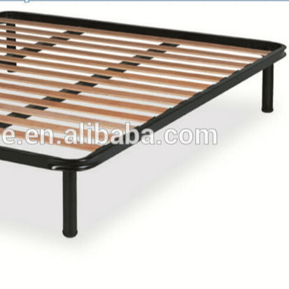 queen size birch bed slat frame