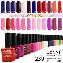 2020 Newest Nail Art Enamel Nail Gel Polish UV Gel CANNI OEM Creat Your Brand private logo 240 Colors Gel Lacquer Nails Varnish