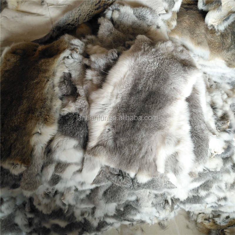 Factory wholesale rabbit fur pelts wholesale