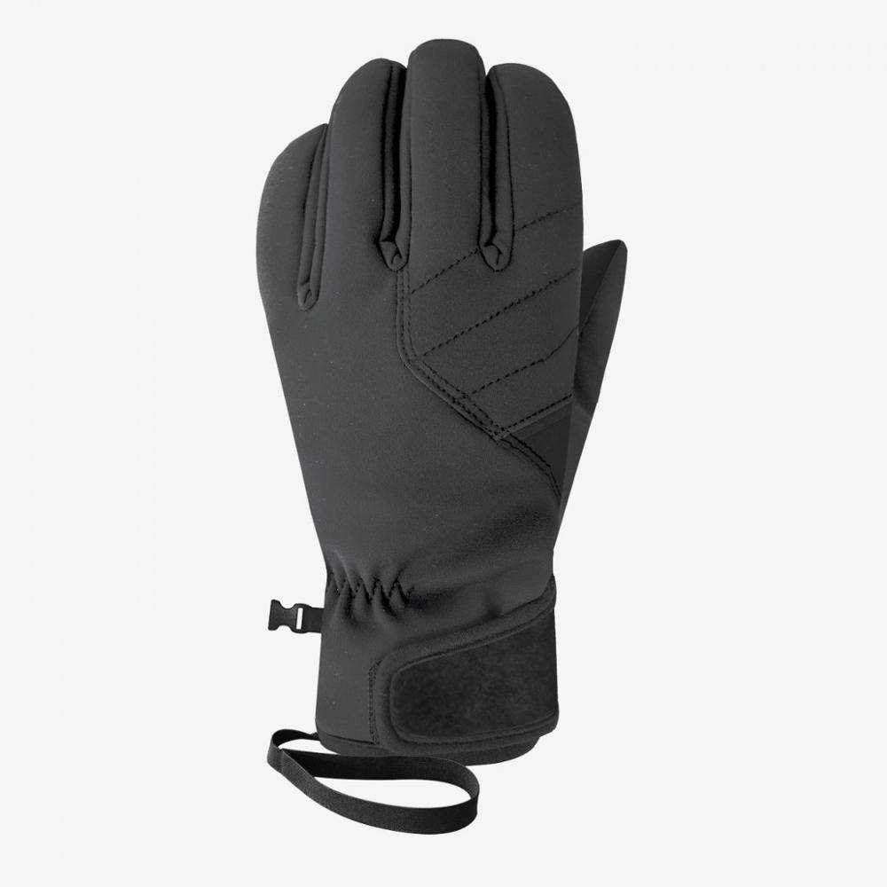 High quality Outdoor ski Glove black winter gloves with touch Making for sale