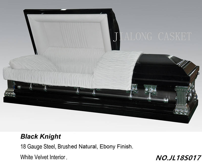 Black Knight Metal Casket-Copper Casket US Style jiangsu jialong