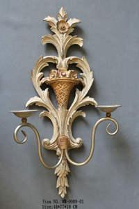 Großhandel Antike Dekorative Kerze Wandlampen