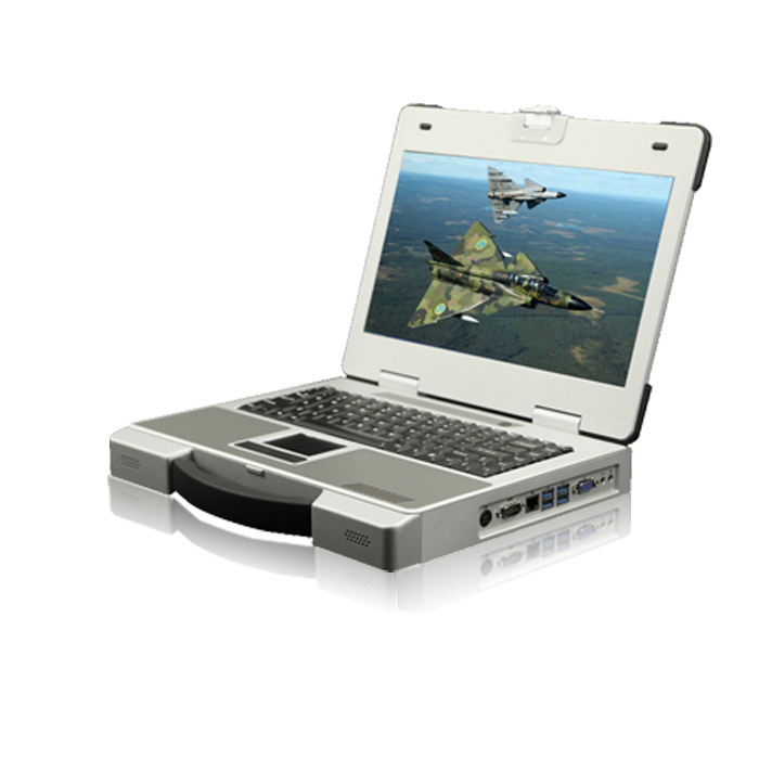 15.6 inch 산업 portable computer customized 견고한 computer 군 laptop