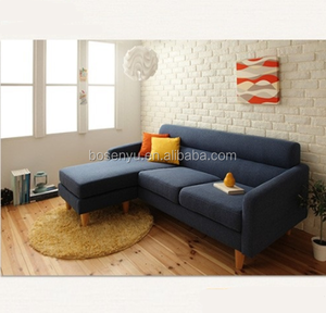 L Shape American Design Colorful fancy sectional sofa set