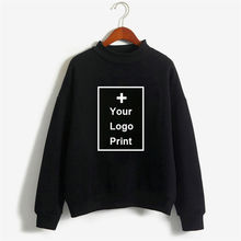 Clothes customized DIY Your Own Design Print Sweatshirts Personalized  Women Hiphop Punk Crewneck Sweats
