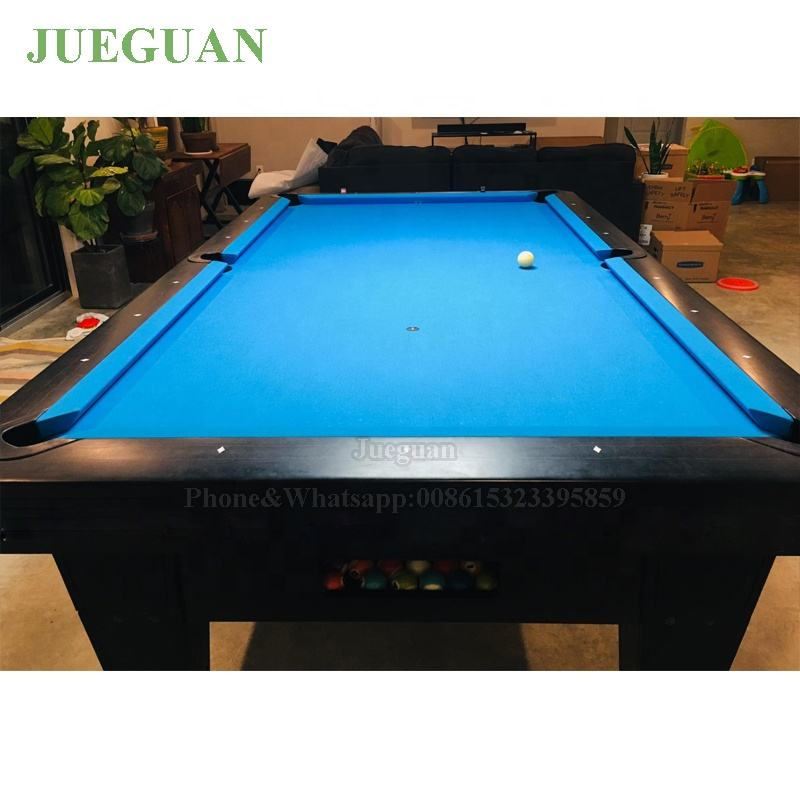 3 cushion manufacturer moden 9ft pool billiard table 8ft billiards with Simonis 860 tournament cloth