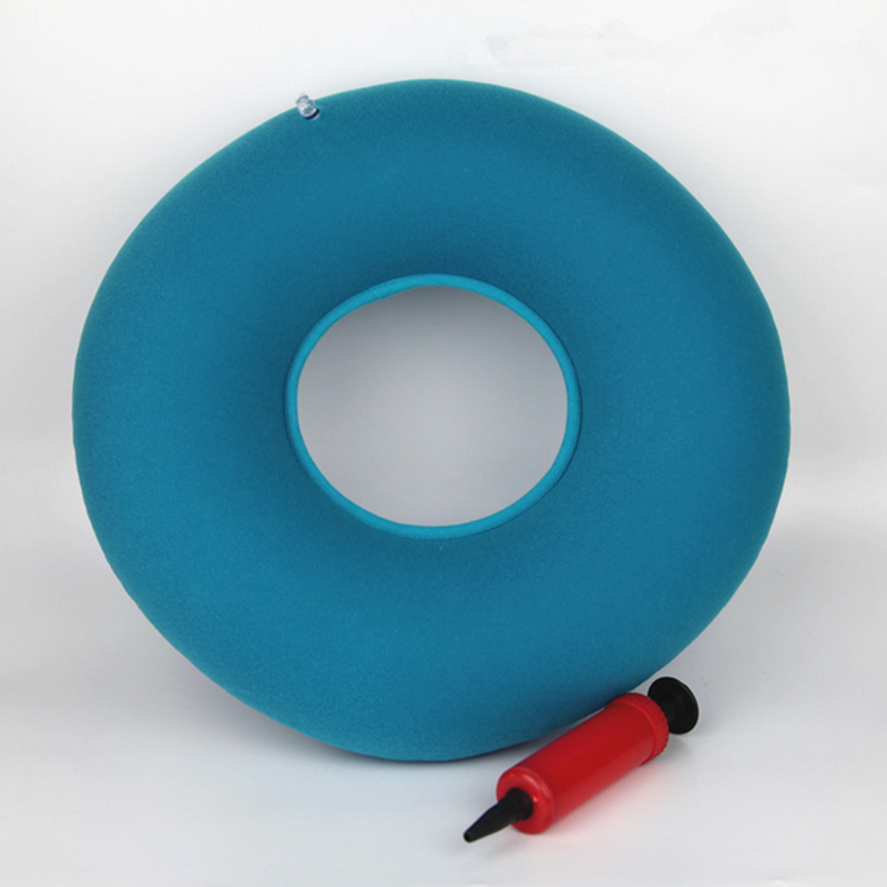 Inflatable Piles Ring Cushion Donut Pillow Vinyl Rubber Seat Medical Hemorrhoid Cushion