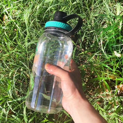 Big capacity 1.5l big cup new water bottle  water purifier filter bottle