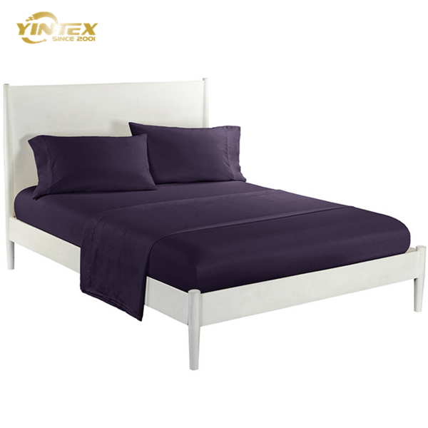 Grade A [ Bed Sheets ] Bed Sheets Natural Queen Size 300TC 100% Bamboo Bed Sheets