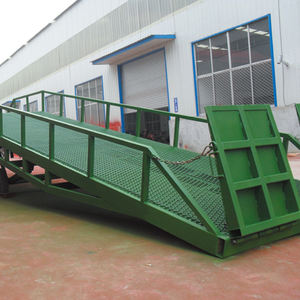 Truck container warehouse used mobile loading ramp new model dock ramp factory price