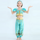 Costume Halloween Costume For Kids Hot Sales Halloween Cosplay For Party Kids Fancy Dress Princess Jasmine Costume For Girls