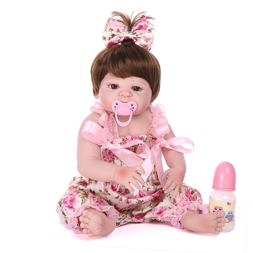 Silicone baby doll manufacturer china baby doll lifelike weighted newborn