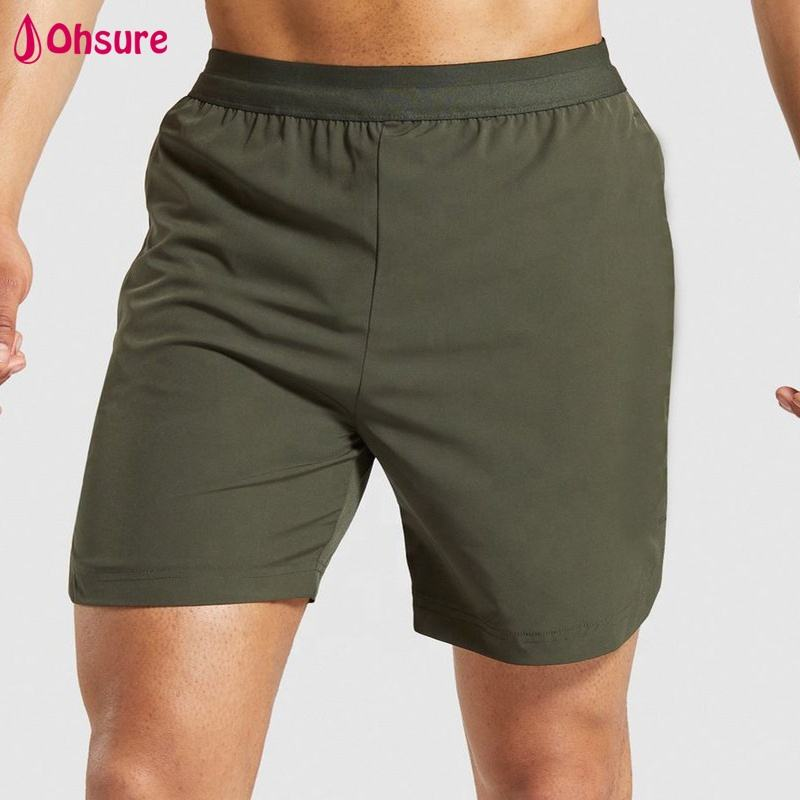 custom brand mens fitted gym shorts fitness activewear sport shorts cotton spandex workout running shorts men