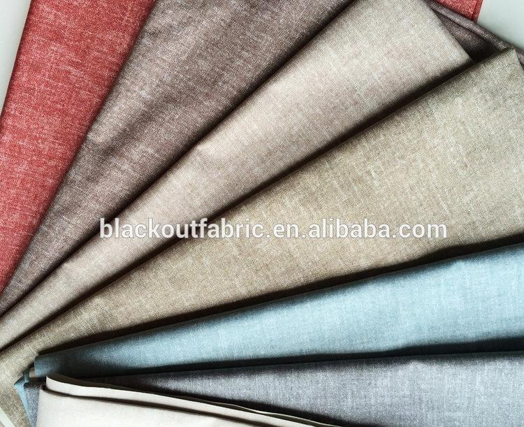 Running Stock Soundproof Blackout Curtain Fabric