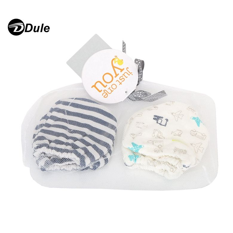 201903 Newborn Baby Mittens Newborn Eco Friendly Organic Cotton Winter Baby Mitten Gloves and socks set