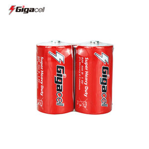 Size D battery Carbon Zinc R20 battery