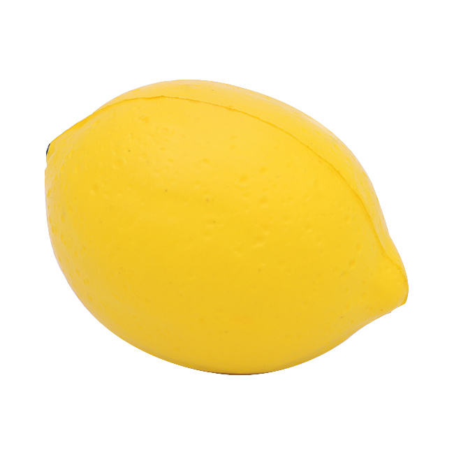Top quality Aroma Lemon Fruit Shaped Stress Ball Orange Shape Stress Ball