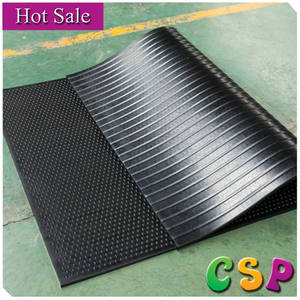 non-slip shockproof rubber sheet / horse and cow stable mat