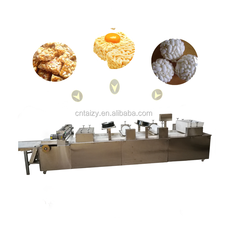 low energy consumption rice ball production line