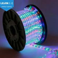 Diwali colorful 100m led rope light for decoration