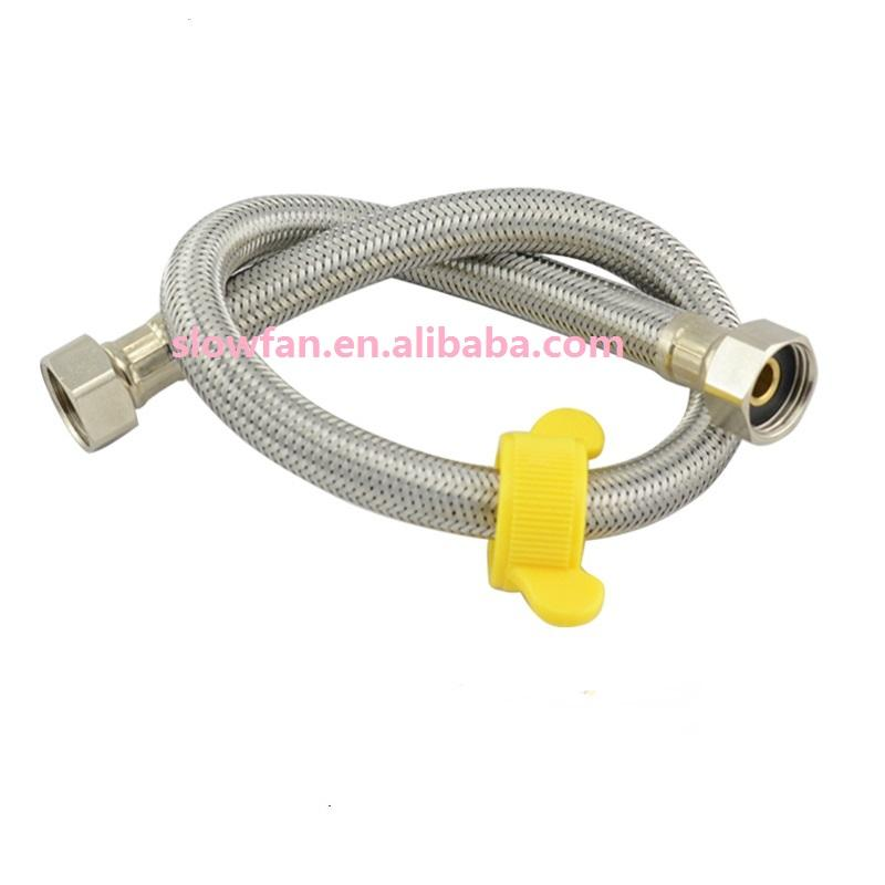 Faucet inlet braided hose faucet braided hose