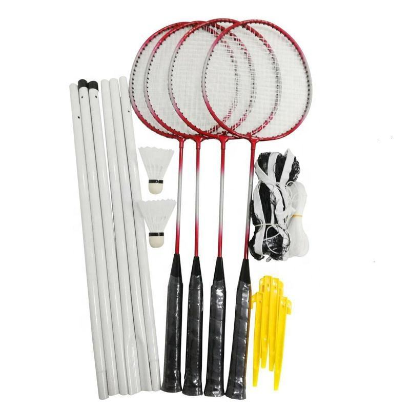 4 Player Sport Badminton Racket Tennis set Racquet Set With Nets Shuttlecock