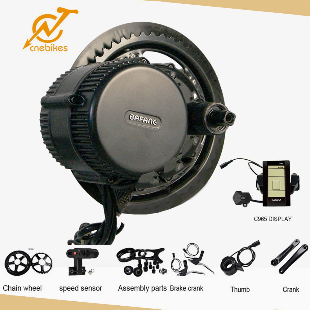 Top Quality mid motor electric bicycle kits china 350w BBS01 supplier