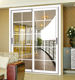 sliding door frosted plastic/frosted glass sliding closet doors/interior french doors sliding