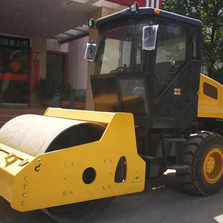 Factory Price New Road Roller Price 6 Ton Double Drum Vibratory Road Roller