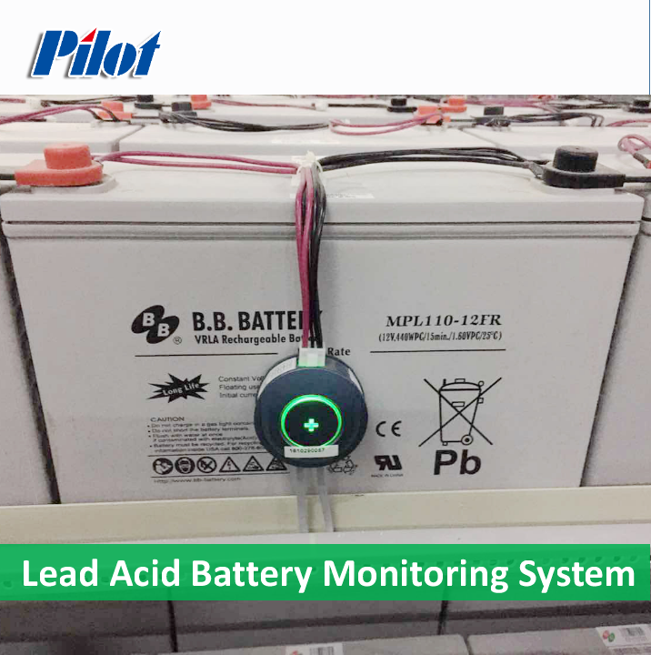 PILOT Real Time online Intelligent Battery Tester bms for lead acid battery
