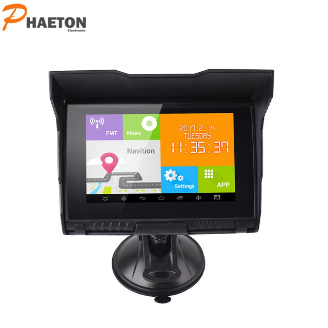 "5"" Android Waterproof gps navigator for Motor and Bike with Bluetooth ,FM ,Multimedia function GPS"