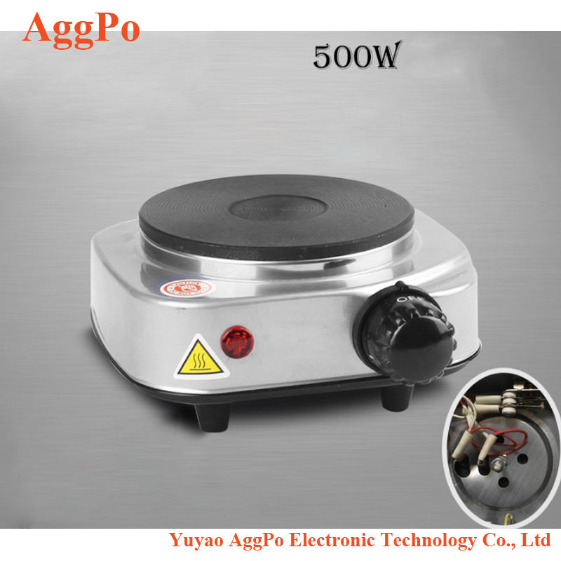 Mini DIY electric stove, 500W 220V Mini Electric Stove Cooking Hot Plate, Multifunction Stove Cooking Plate Coffee Tea Heater