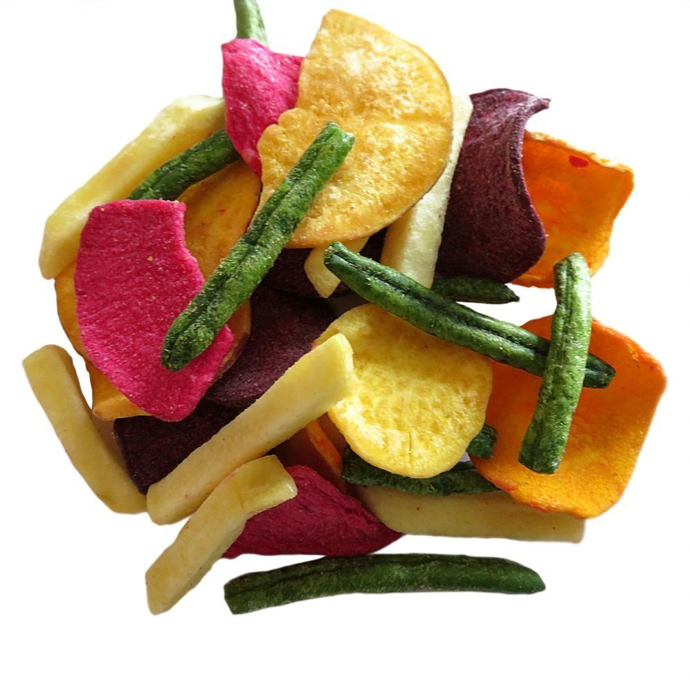 Vacuum Fried mixed vegetable chips,fruit chips