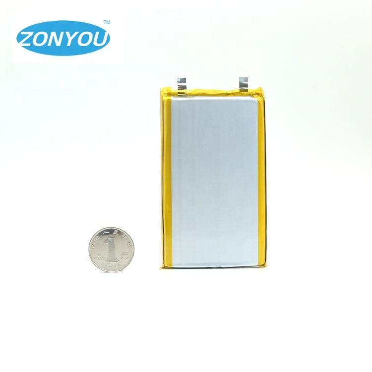 Small Size with High Capacity Rechargeable 10Ah 1060100 10000mAh 3.7V Li Polymer Lipo Battery