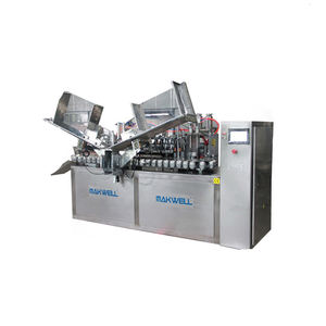 manual aluminum laminated tube filler sealer