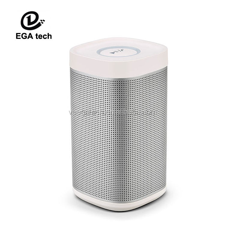 New design dj bass speakers/voice controlled speakers support FM/USB/SD/MMC/PC/MP3/MP4/Mobile Phone