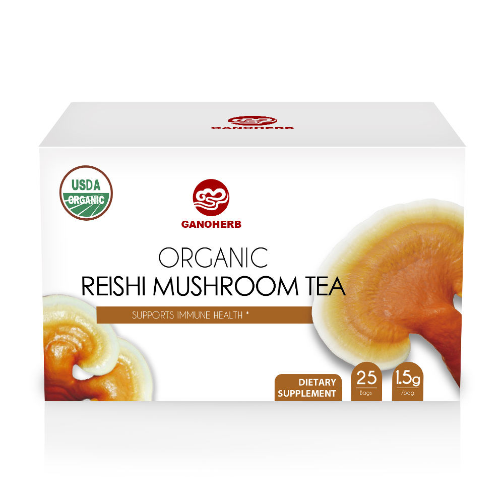 100% Natural Organic Detox Body Herbal Tea Reishi Mushroom Tea