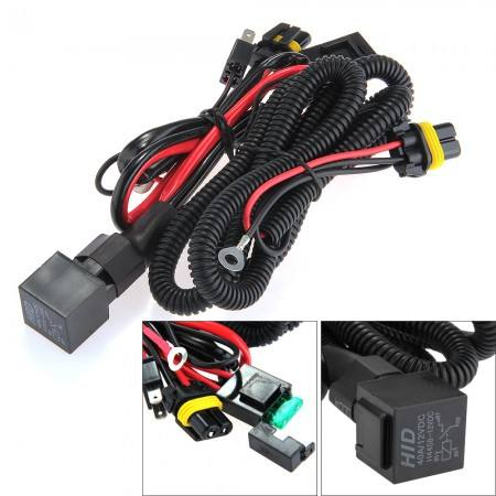 Copper Wiring Harness Fuse Socket for enon Lamp HID Conversion Kit H1 H3 H7 H11