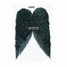 Black feather Wholesale Large Angel Wings For Halloween Christmas Holiday Party