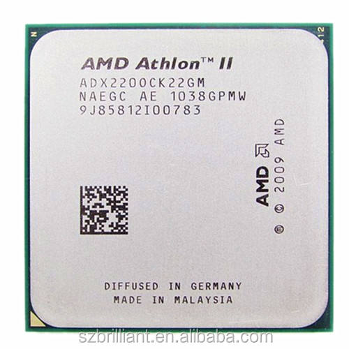 AMD CPU Athlon II X2 220 CPU 2.8 GHz Socket AM2 +/AM3 938PIN dual-core 65 w prosesor scrattered potongan
